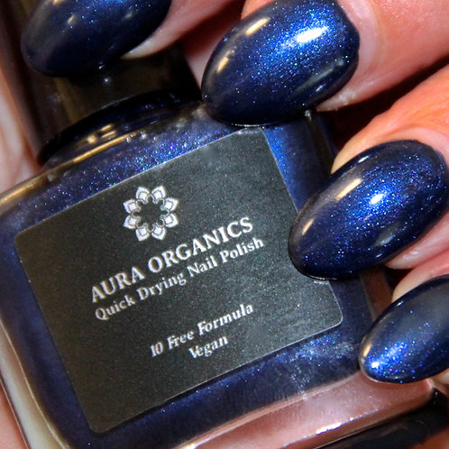 Cruelty Free Nail Varnish - Midnight Blue