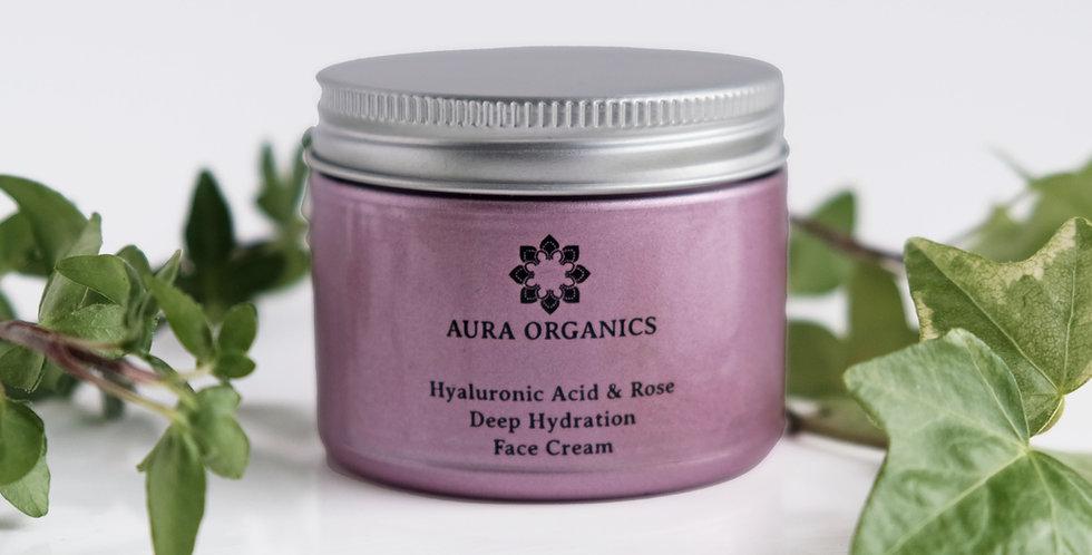 Hyaluronic Acid & Rose Day Cream