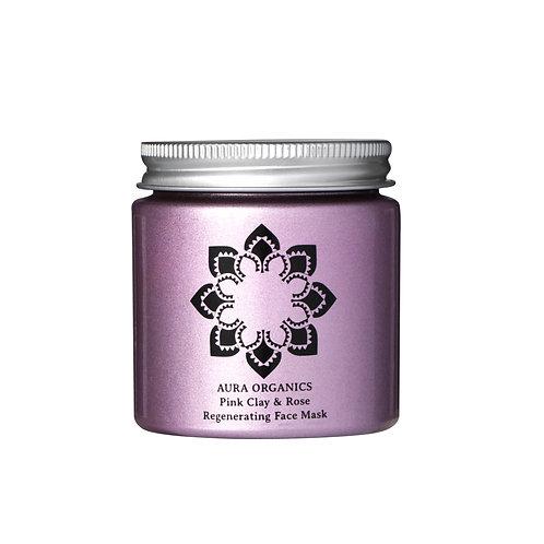 Natural Organic Rose Clay Mask and Exfoliator