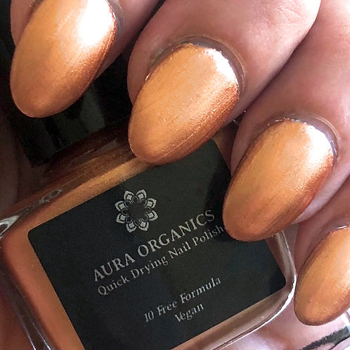Cruelty Free Nail Varnish - Gold Rush