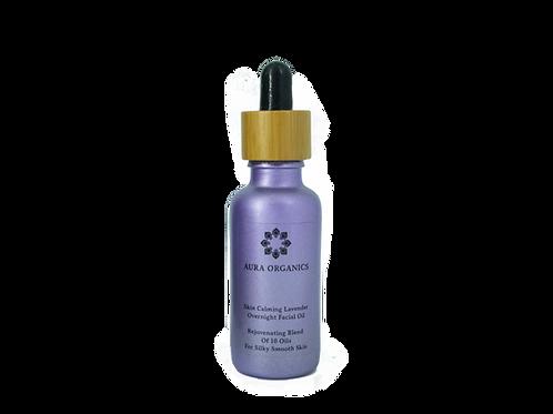 Organic Night Serum - Regenerating and Calming Lavender