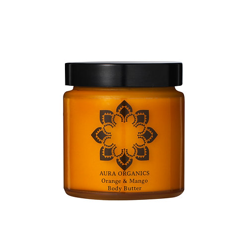 Organic Vegan Natural Body butter  mango and orange