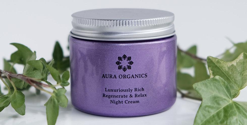 Lavender Skin Calming Night Cream