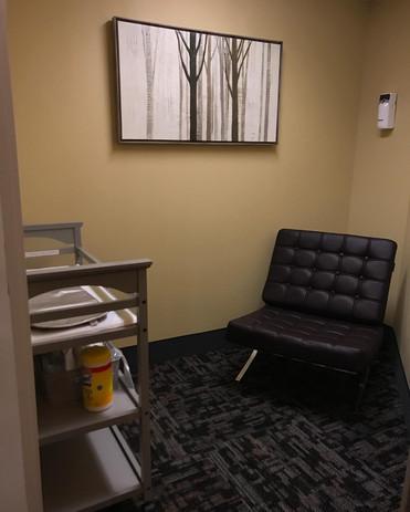 Nursing + Changing Station