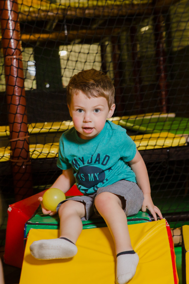 Soft Play in Gated Crawlers Area