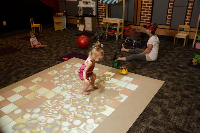BEAM Interactive Floor Games