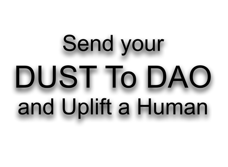 Uplift Your #EOS Tokens - Send Your DUST to DAO