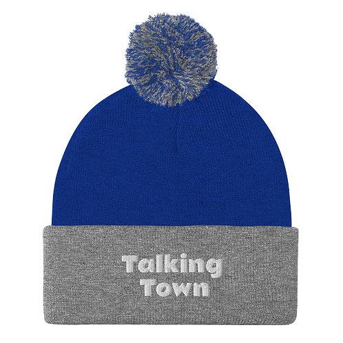 Talking Town Pom-Pom Beanie