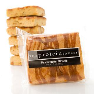 Peanut Butter Protein Blondie