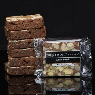 Low Sugar Almond Protein Brownie