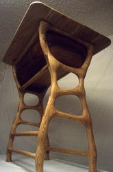 Sketetal legs of drafting table