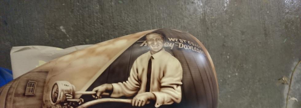 West Coast Harley Shop Display Tank (2).