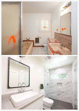 BEFORE&AFTER BATHROOM