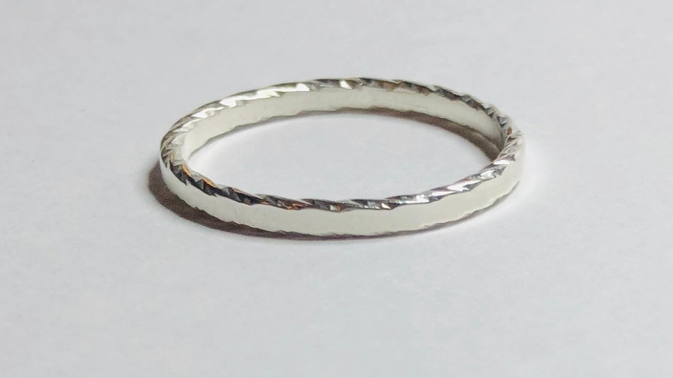 Sparkle Edge Ring