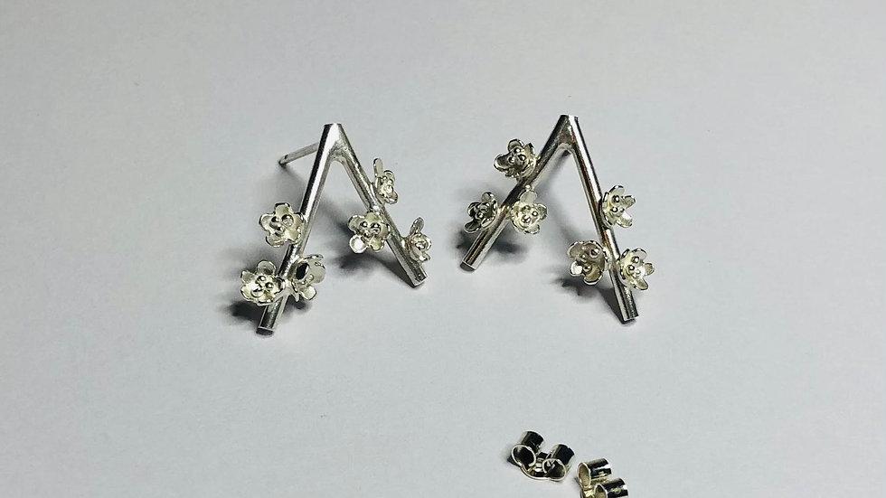 Blossom Branch Earrings