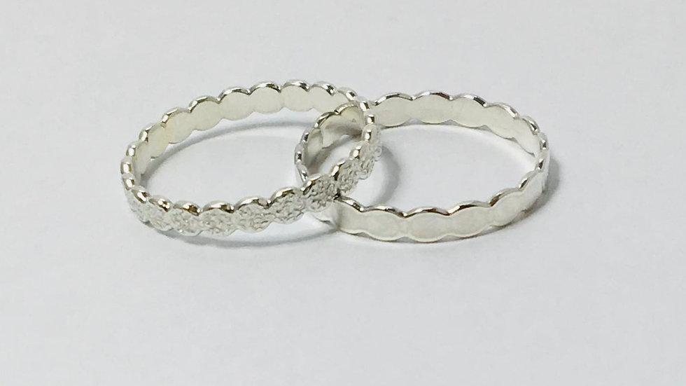 Blossom Bark Ring