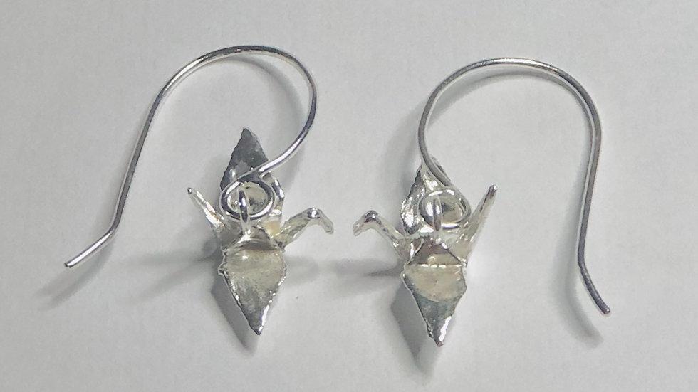 Crane Drop Earrings