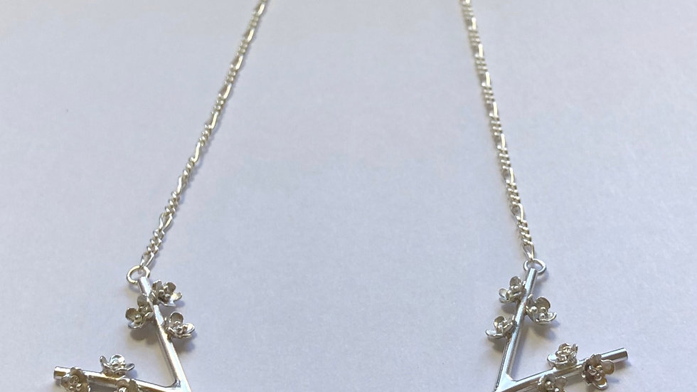Blossom Wishbone Necklace