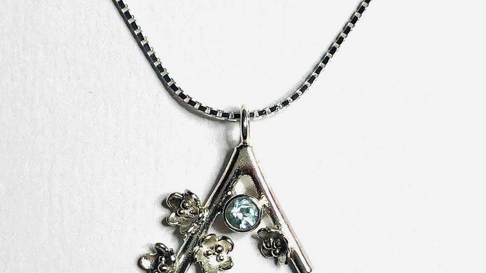 Blossom Gem Set Necklace