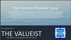 The Valueist Magazine Issue 1, 2021 Cove