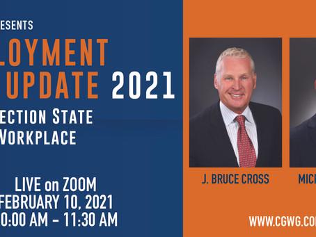 Webinar: Employment Law Update 2021