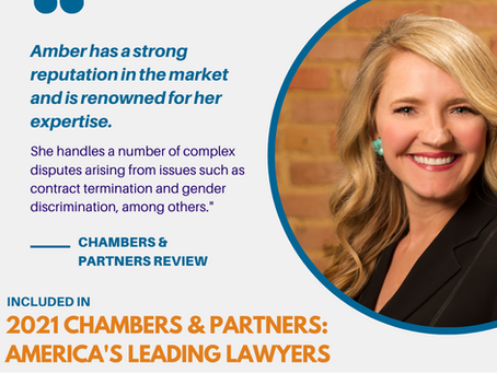 Congratulations to our Chambers-Recognized Attorneys!