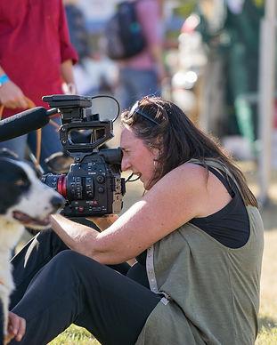 Catherine Scott filming .jpg