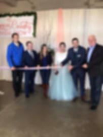 Simcoe County Bridal Show ribbon cutting