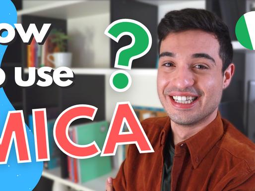 Come usare MICA in Italiano + esempi utili