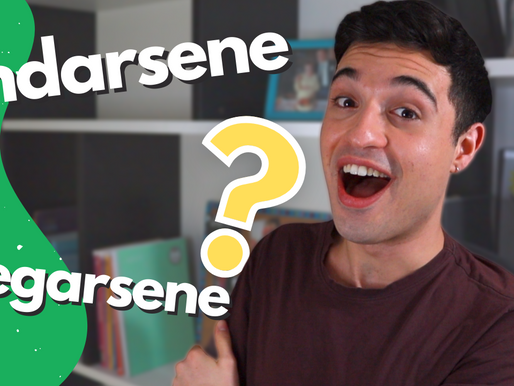 Verbi Pronominali Italiani con SENE + useful expressions