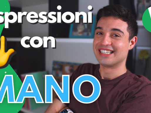 Espressioni Utili con la Parola MANO + esempi utili