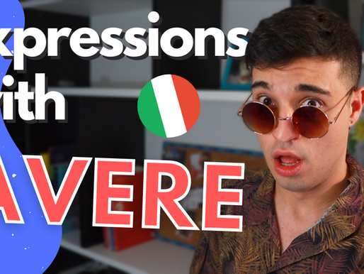 Italian Verbs: Verb AVERE and Useful Expressions in Italian