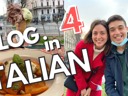Vlog #4 - Pasta, Gelato and lots of fun