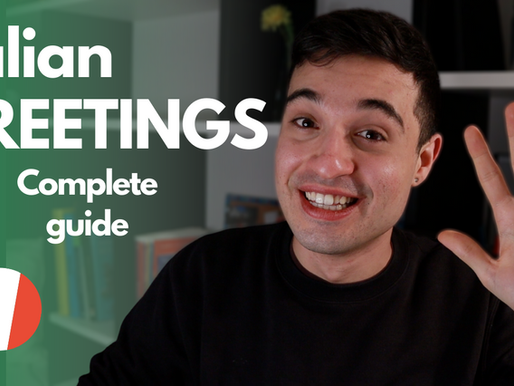 Complete Guide To Italian Greetings | 10 Italian Greetings You Must Know Now