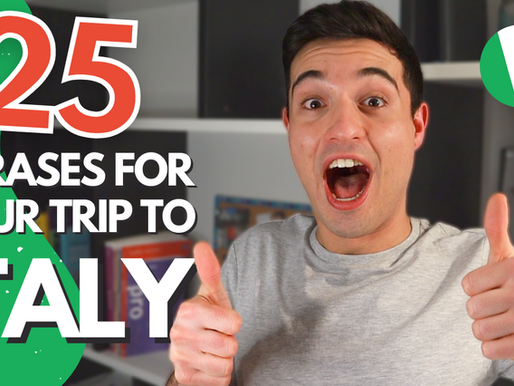 Top 25 Italian Phrases for Travel You Should Know Before Your Next Trip To Italy