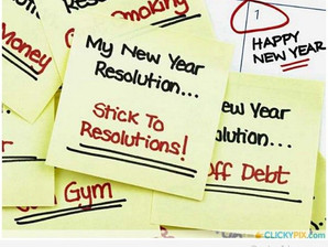 Resolving to Keep our Resolutions...AGAIN!