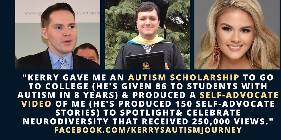 Kerry's Autism Journey Featuring Special Guest, Jesse A. Saperstein