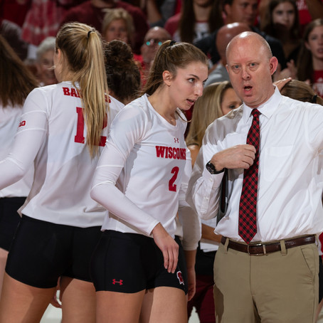 SGG episode #2: Wisconsin volleyball coach Kelly Sheffield thinks carefully about team spaces