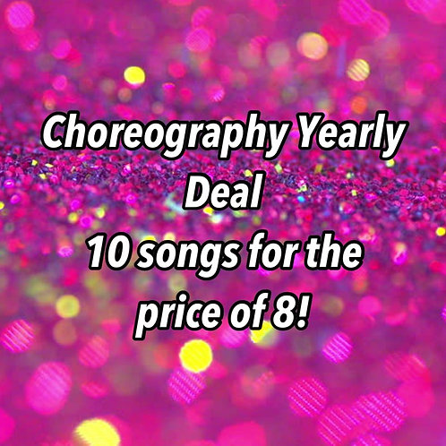 Choreography Yearly Deal 2
