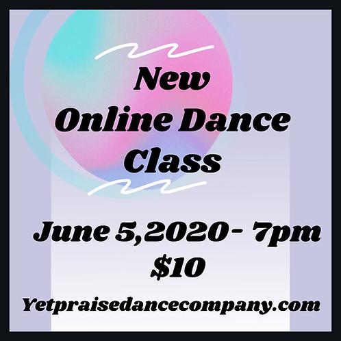 Online Dance Class June 5,2020