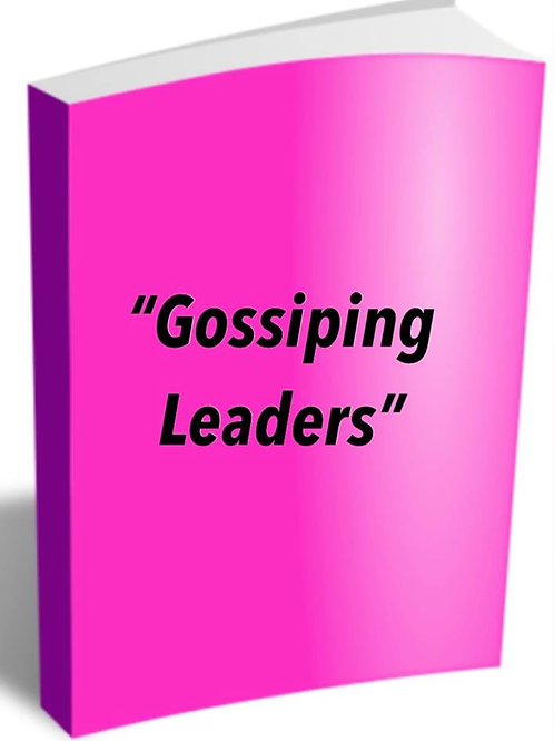 Gossiping Leaders Notes