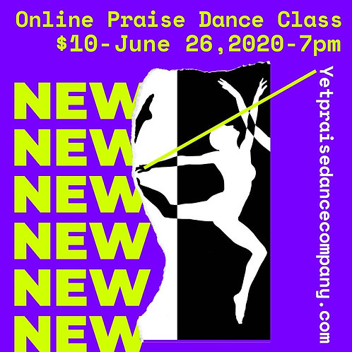 June 26, 2020 Dance Class