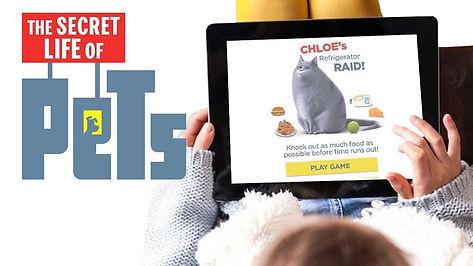 Creative Digital Agency ad for Secret Life of Pets
