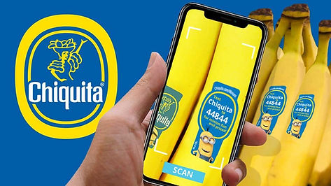 Creative Digital Agency ad for CHIQUITA