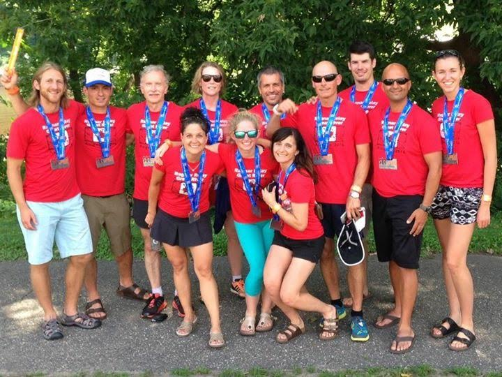 2nd place finish in division_RagnarRelay-GreatRiver2016