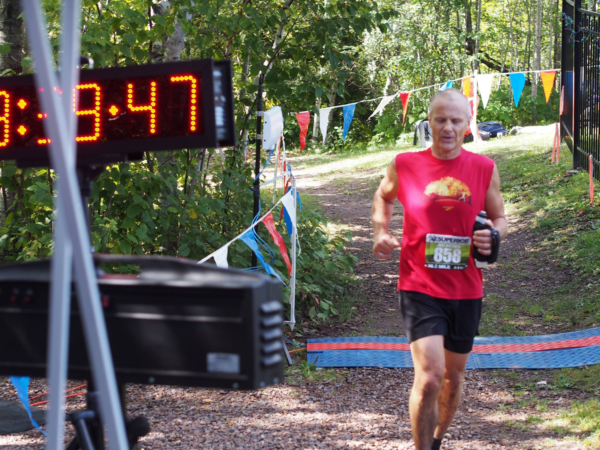 Jim_Finish_Superior Fall Trail Marathon_2016