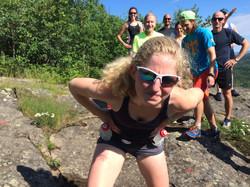Rosie & group_Nipigon Red Rock_Trail Run_2016