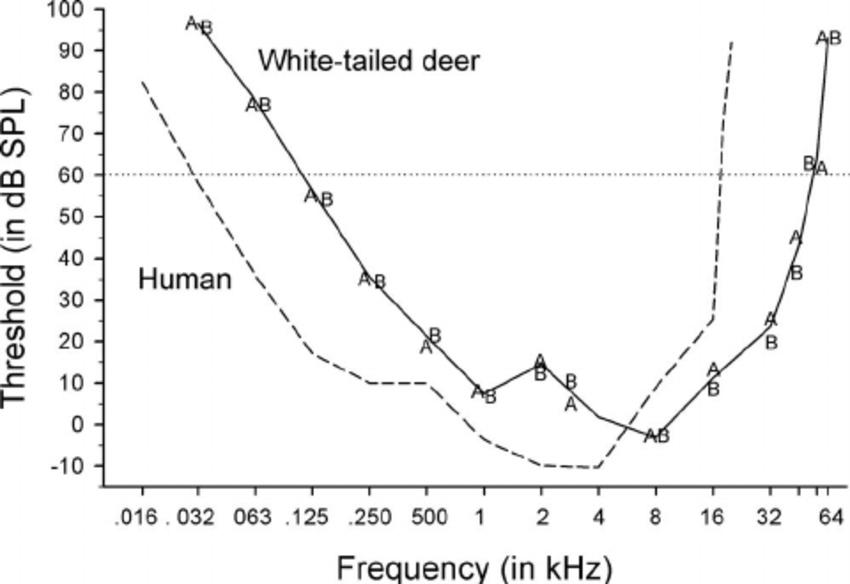 Deer Audiogram