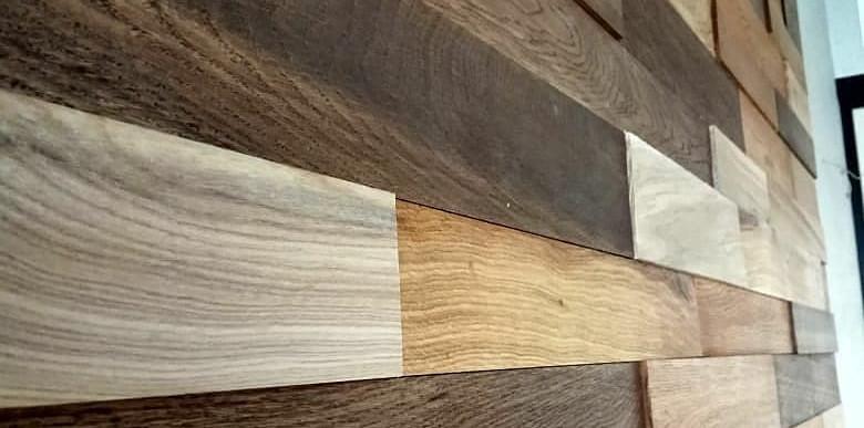 Individual Oak 3D Wall