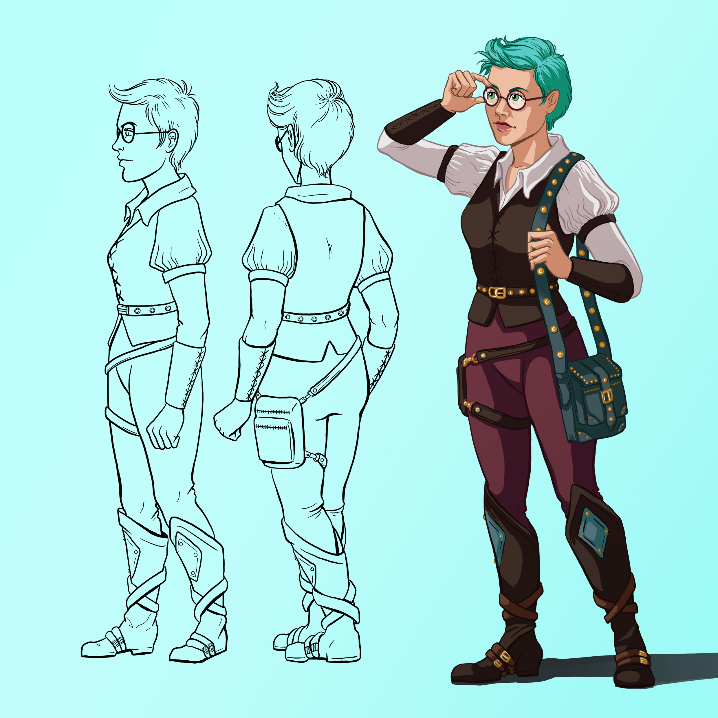 Character Page